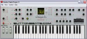 Capture d'ecran du logiciel Virtual Piano 5.9 fr