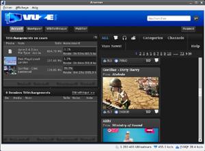 Capture d'écran du logiciel Vuze Bittorrent 5.7.5.0 fr - L...