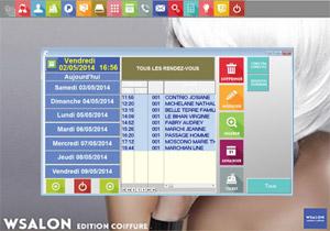 Capture d'écran du logiciel WCoiff 4.0.0.3 fr