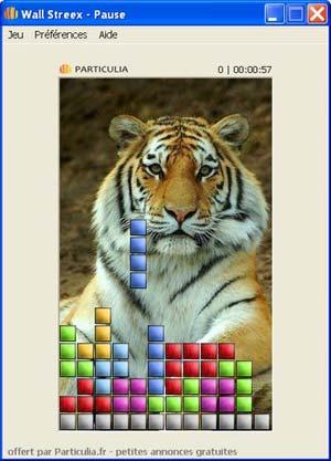 Capture d'écran du logiciel Wall Streex 1.6 fr
