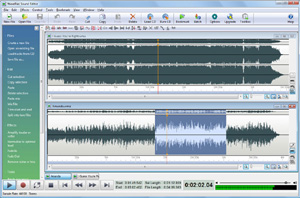Capture d'écran du logiciel WavePad Sound Editor 7.03