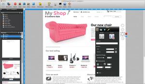 Capture d'ecran du logiciel WebAcappella Responsive 1.4.0 build 01601f5 fr