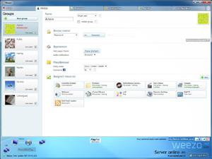 Capture d'écran du logiciel Weezo 4.3.0 fr