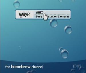 Capture d'écran du logiciel WiiSX beta 2.1