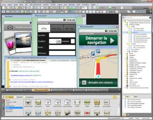 Capture d'ecran du logiciel WinDev Mobile 25 Express fr