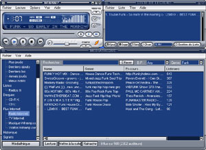 Capture d'ecran du logiciel Winamp 5.63 build 3235 Full fr