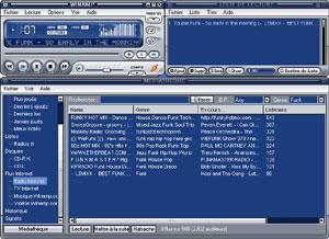 Capture d'ecran du logiciel Winamp 5.666 build 3516 Full fr