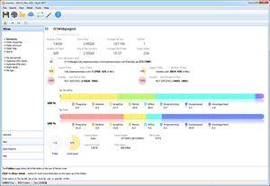 Capture d'écran du logiciel Xinorbis 8.0.15 fr