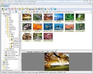 Capture d'ecran du logiciel XnView Portable 2.49.1 full fr