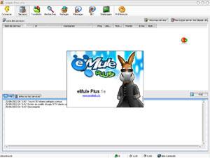 Capture d'écran du logiciel eMule Plus 1.2e fr