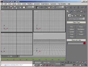 Capture d'écran du logiciel gmax 1.2