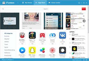 Capture d'écran du logiciel iFunBox 4.1.0.6 fr