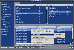 Capture d'ecran du logiciel ml_iPod Plugin 3.10 fr