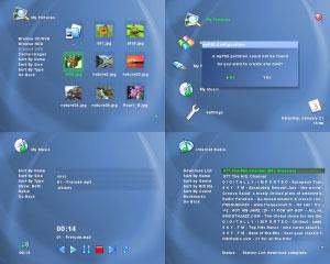Capture d'écran du logiciel myPS2 1.2