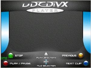 Capture d'écran du logiciel uDCdivx 0.1 Pal